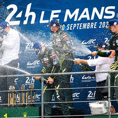ASTON MARTIN RACING ル・マン24時間レースで優勝! 2020 WECマニュファクチャラーズ・タイトルも同時に獲得!