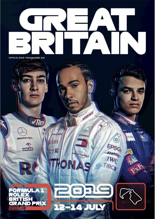 「FORMULA1 BRITISH GRANDPRIX 12-14 JULY2019」 F1の公式レースプログラムにImmun Âgeの広告登場
